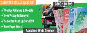 Cash For Car Removal Auckland CBD
